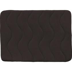 Alfombra Wave Foam Café Oscuro 50x70cm