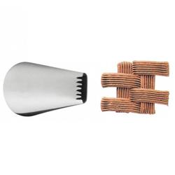 Boquilla de Metal Tejido Esterilla # 47 Wilton