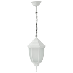 Lámpara Colgante Led Blanca 8w Victoria Eurolight