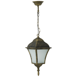 Lámpara Colgante Led Bronce 8w Louis Eurolight