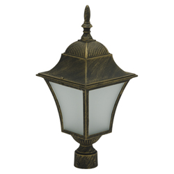 Farol Led Bronce de Poste Louis Eurolight