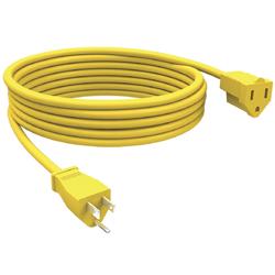 Extensión de 1 Servicio 4.6mt  Amarilla para Exteriores Stanley