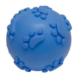 Pelota Azul de Caucho para Mascota