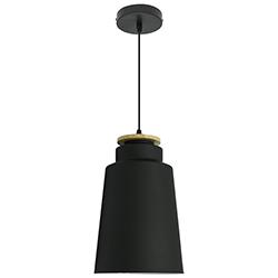 Lámpara Colgante Street Tube Negra