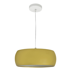 Lámpara  Colgante  Orb Oro Satín