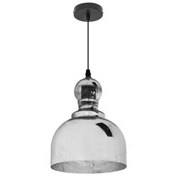 Lámpara Colgante Rustic Bell Cromo