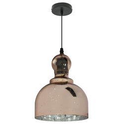 Lámpara Colgante Rustic Bell Cobre