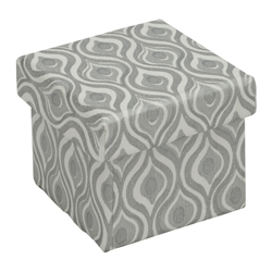 Caja de Regalo Plata 5x5cm