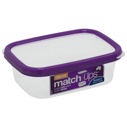 Contenedor Matchups 375ml Lila Decor