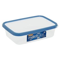 Contenedor Matchups Azul 2 Litros Decor