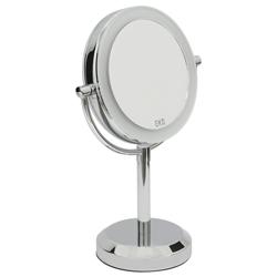 Espejo de Aumento Cromo 5x con Sensor