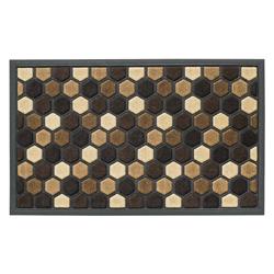 Alfombra  Diseños Hexagonal de Caucho 45x75cm