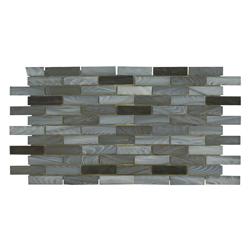 Mosaico de Vidrio Gris 30.5x30.5cm (.099)