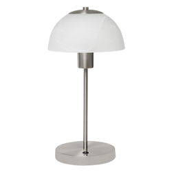 Lámpara de Mesa con Pantalla Blanca