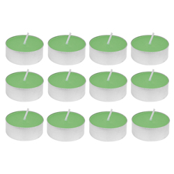 Vela Lemongrass con Aroma 12 Unidades