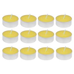 Vela Amarilla con Aroma 12 Unidades