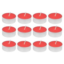Vela Rosa con Aroma 12 Unidades