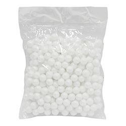 Bolitas Escarchadas Blancas