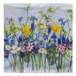 Servilleta Spring Flower 33x33cm 20 Unidades