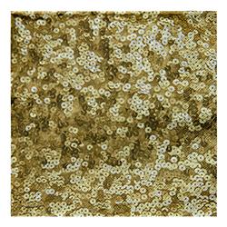 Servilleta Sequins Gold 33x33cm 20 Unidades