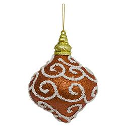 Bola Cebolla Arabesco Bronce Antiguo