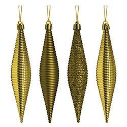 Gotas Oro en Set de 4 Piezas