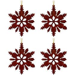 Copo Rojo Set de 4 Piezas