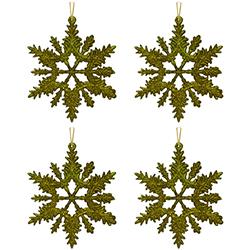 Copo Oro Set de 4 Piezas