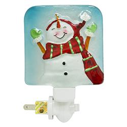 Lámpara de Noche Led Snowman