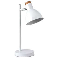 Lámpara de Mesa Cuppy Blanca Eurolight