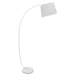 Lámpara de Piso  Arch Blanca Eurolight