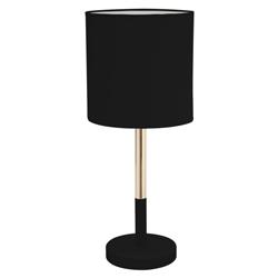 Lámpara de Mesa Stand Negra Eurolight