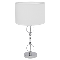 Lámpara de Mesa Twist  Blanca Eurolight