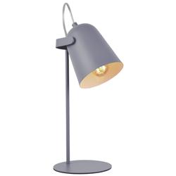 Lámpara de Mesa Spotter Gris Eurolight