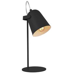 Lámpara de Mesa Spotter Negra Eurolight