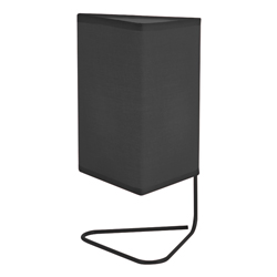 Lámpara de Mesa Scribble Negra Eurolight