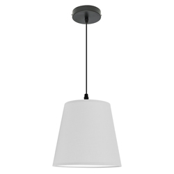 Lámpara Colgante Canopy Blanca Eurolight