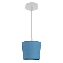 Lámpara Colgante Cup Azul Eurolight