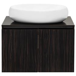 Mueble Café con Lavamanos de Porcelana Blanco 70x48cm