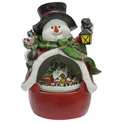 Snowman Musical con Movimiento