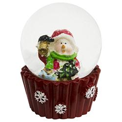 Bola de Cristal con Nieve  Snowman