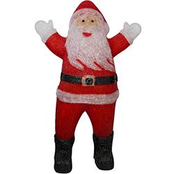 Santa Acrílico con Luz Led 120cm