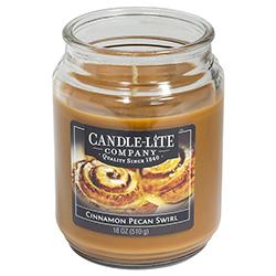Vela Aromática Cinnamon Pecan Swirl