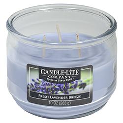Vela Aromática 3 Mechas Fresh Lavender