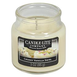Vela Aromática Creamy  Vainilla Swirl