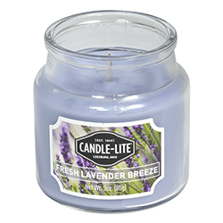 Vela Aromática Fresh  Lavender Breezer