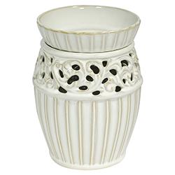 Lámpara Quemador de Cera Ivory