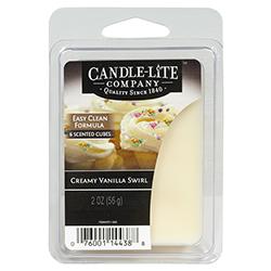 Cera Cubo Creamy Vainilla Swirl Candle-lite