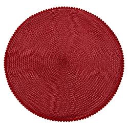Individual Tejido Rojo 33cm
