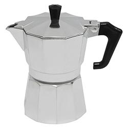 Cafetera Aluminio Pezzetti Tazas Abert